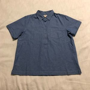 J.Crew women's Chambray Top